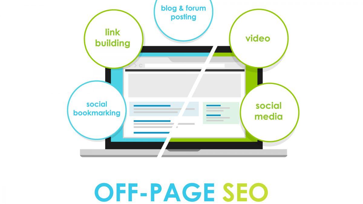 Off-page SEO i on-page SEO